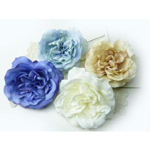 造花 シルクフラワー 大輪のオールドローズピック FA-6753 そのままインテリアに コサージュや髪飾りに|familiamia