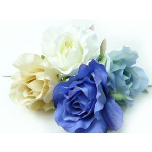 造花 シルクフラワー モダンローズピック FA-6754(1本) そのままインテリアに コサージュや髪飾りに|familiamia