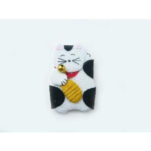 ちりめん細工 招き猫(平面) 正月飾りとしても自由に使える可愛い小物|familiamia