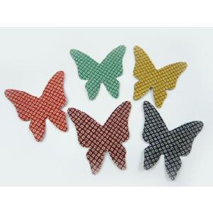 しおり ちりめん細工 揚羽蝶(5枚セット) ちりめん素材のブックマーク|familiamia