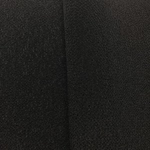 ちりめん 生地 一越 無地 黒3 10cm  髪飾りやつまみ細工に レーヨン 縮緬 はぎれ 和布|familiamia