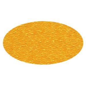 ちりめん 生地 無地 橙(31) 10cm  髪飾りやつまみ細工に 二越 レーヨン 縮緬 和風 はぎれ|familiamia