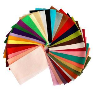 ちりめん はぎれ セット 一越 無地 30枚  34cm×10cm (大きいサイズ) 色の一覧表付き  髪飾りやつまみ細工に レーヨン 縮緬 生地 和布|familiamia