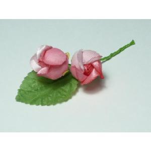造花 ギフト フラワーブーケ ミニバラ4032輪リーフ付「バレンタイン」|familiamia