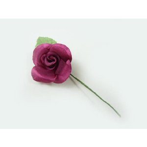 アウトレット造花 ワインローズリーフ付(1個) プレゼント用ラッピングツール familiamia