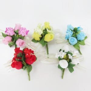 花飾り・胸花 コサージュ完成品・金のエッジパー...の関連商品1
