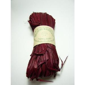 ラフィア ワイン(50g) 60110-480 編んだり結んだりの手芸材料として 帽子やバスケットが作れます familiamia