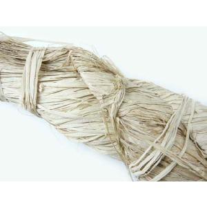 マダガスカルラフィア ナチュラル(700g〜1kg) 60750-000 編んだり結んだりの手芸材料として 帽子やバスケットが作れます|familiamia