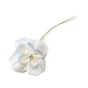 造花◆フラワー Wアジサイ白