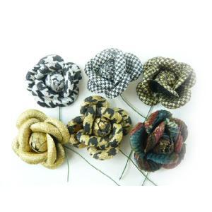 アウトレット造花 バラ 多使用ローズ ラッピング 造花 髪飾り シューズクリップ クリスマスラッピングにもなる familiamia