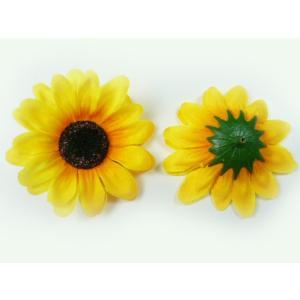 造花 ひまわり 小 ヘッド(1輪) シルクフラワー|familiamia