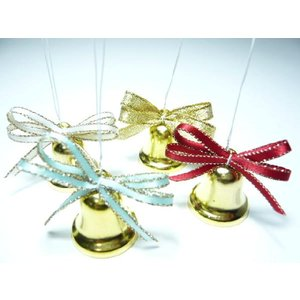 ベル 金 24mm 1個 クリスマス オーナメント 手芸材料|familiamia