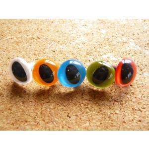 キャッツアイ12mm(ストレート)(1個) 猫目 さし目 眼 鼻 手芸材料|familiamia