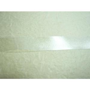 テープ透明ゴム10mm×0.15mm(1m) ソーイング 手芸材料 のびる透明テープ|familiamia