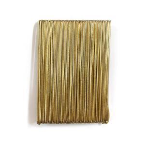 アウトレットラバーバンド 金ゴム #3499901 太さ1.5mm (10m1巻)YR|familiamia