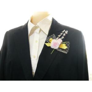 手作りキット・花飾り・胸花・造花◆黄色いリボン...の詳細画像2