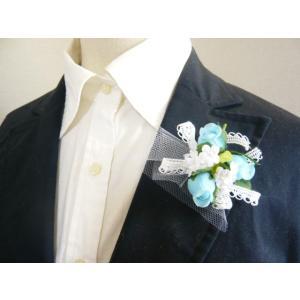 手作りキット・花飾り・胸花◆レースリボンと白い...の詳細画像4