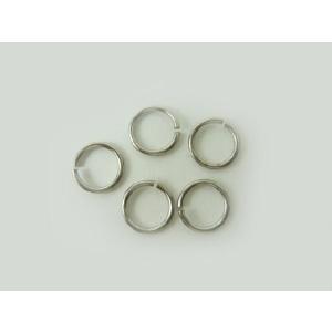 丸カン・アクセサリーパーツ・手芸材料◆金具 丸カン10mm 銀(1個)
