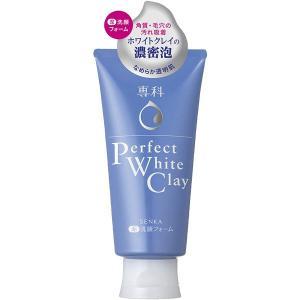 資生堂 専科 パーフェクトホワイトクレイ 120g 専科 濃密泡の洗顔料