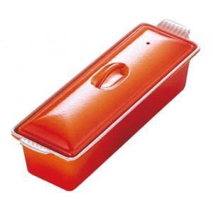 ル・クルーゼ テリーヌ・レクタ 32cm 2524 オレンジ(送料無料)|family-tools