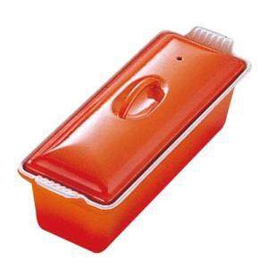 ル・クルーゼ テリーヌ・レクタ 28cm 2524 オレンジ(送料無料)|family-tools