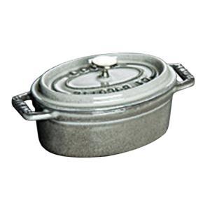 ストウブ ピコ・ココット オーバル 29cm グレー 40509-317(送料無料)|family-tools