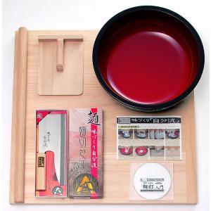 豊稔企販 家庭用麺打セットA(そば・うどんDVD付) A-1230