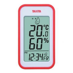 熱中対策 タニタ デジタル 温湿度計(オレンジ) TT-559-OR|family-tools