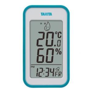 熱中対策 タニタ デジタル 温湿度計(ブルー) TT-559-BL|family-tools