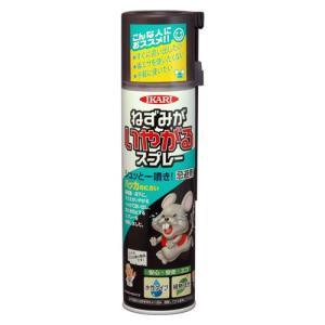 イカリ消毒 ねずみがいやがるスプレー 320ml|family-tools