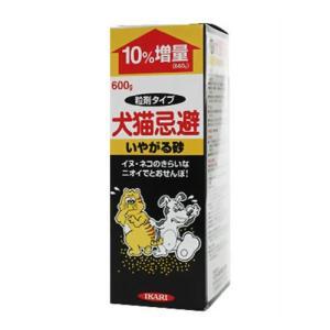 イカリ消毒 犬猫忌避いやがる砂 660g|family-tools