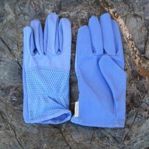 ガーデンパーティー 女性用コットンメッシュガーデングローブ ブルー NO.926(送料無料・ネコポス対応・代引不可) family-tools