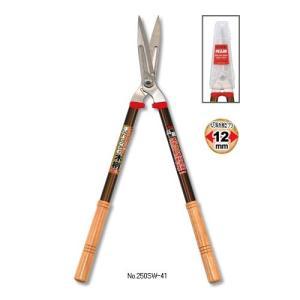カマキ(Kamaki) 高級ステンレス刈込鋏(大) No.250SW-41|family-tools