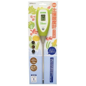 高森コーキ 家庭用土壌酸度計(デジタル式) SPM-011(送料無料・ネコポス対応・代引不可)|family-tools