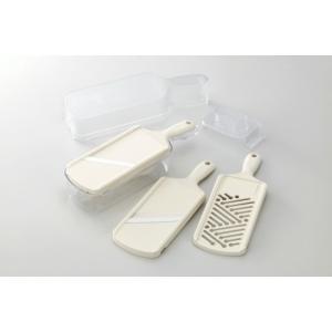 京セラ 調理器5点セット CSN-550 WHN 野菜スライサー|family-tools