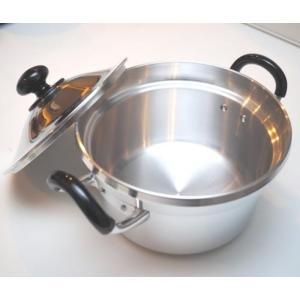 両手鍋 トオヤマ 亀印 文化鍋 20cm 5合炊|family-tools