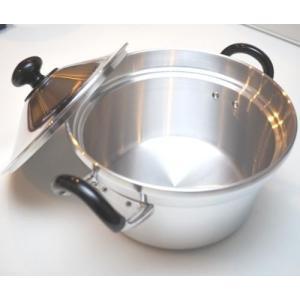 両手鍋 トオヤマ 亀印 文化鍋 22cm 6.5合炊|family-tools