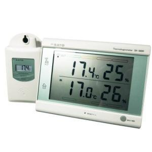 SATO 最高最低無線温湿度計 SK-300R|family-tools