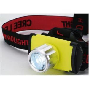 セーブ・インダストリー 3W LEDヘッドライト イエロー SV-4137|family-tools
