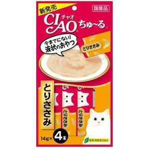 いなば CIAO ちゅ〜る とりささみ味 14g×4本入(12600102)