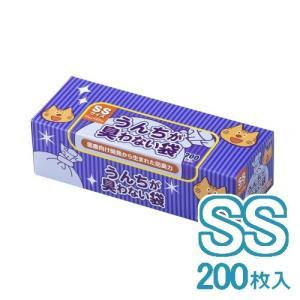 クリロン化成 BOS うんちが臭わない袋BOS  ネコ用箱型 SS 200枚 (24300021)