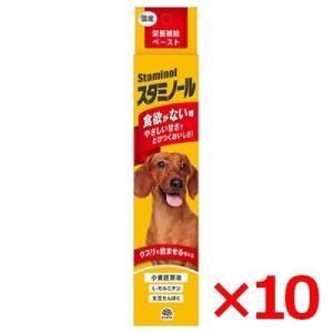 アース 栄養補給ペースト スタミノール 犬用 100g (66107000) × 10個 サプリメント 健康維持 夏バテ対策 (s6610000) familypet