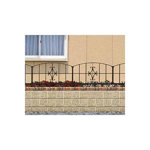 LIXIL コラゾンフェンス2型(柱セット) ※ LIXILアルミ 鋳物 錆びにくい フェンス ※ famitei