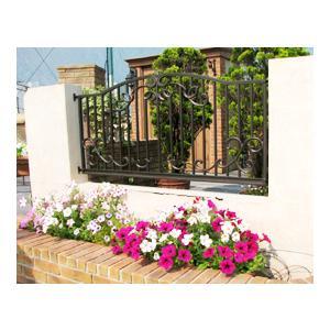 ガーデンフェンス(柱セット) ※ ディーズガーデンアルミ 鋳物 錆びにくい フェンス ※ famitei