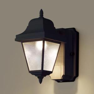 玄関灯 おしゃれ パナソニック 段調光省エネ型 LED ブラケットライト LGWC80230LE1 オフブラック |ライト led 屋外 照明 門柱灯|famitei