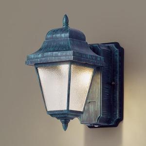 玄関灯 ガーデンライト 屋外 パナソニック LED ブラケットライト(明るさセンサー付・段調光省エネ型) LGWC80260LE1 |玄関灯  レトロ 自動点灯|famitei