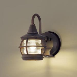 玄関灯 ガーデンライト 屋外 パナソニック LED ブラケットライト(明るさセンサー付・点灯省エネ型) LGWC85216K|玄関灯 自動点灯 レトロ|famitei