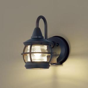 玄関灯 ガーデンライト 屋外 パナソニック LED ブラケットライト(明るさセンサー付・点灯省エネ型) LGWC85217K |玄関灯 自動点灯 レトロ  門灯|famitei