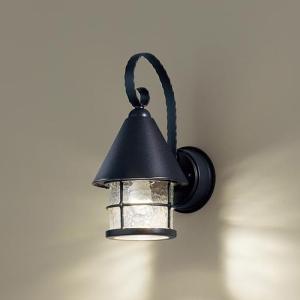 玄関灯 ガーデンライト 屋外 パナソニック LED ブラケットライト LGW85044BK|ガーデンライト LED 玄関灯 玄関照明 外灯  外 おしゃれ レトロ 門柱灯|famitei