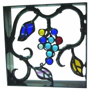 シャインガラス銅製ミニブロック ブドウ2|famitei
